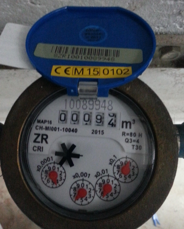Super Eichung von Verbrauchszählern für Wasser und Wärme DN08